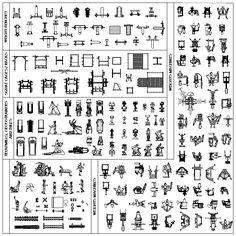 CAD Library-AutoCAD Blocks & Drawings : ★【European