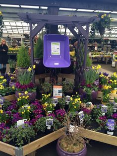 A Display Of Terra Cotta Pottery At Bachman's Garden Center In
