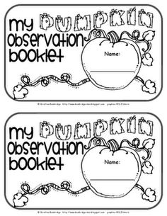 Pumpkins, Songs and Thematic units on Pinterest