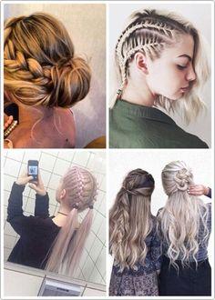 Imagen Vía We Heart It #grunge #hair #hairstyle #undercut