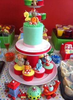 In The Night Garden 2 Tier Birthday Cake By Helen The Cake Lady