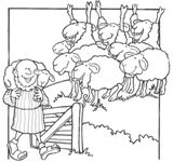 Luke 15: Three Parables; Parable of the Lost Sheep Puppet