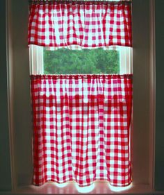 Red And Black Kitchen Curtains Inspiration Sacalink