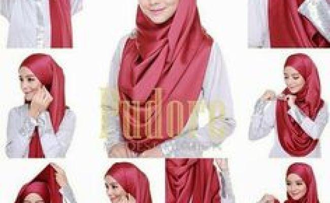 Hijab Tutorial No Pins 2 Jpg 640 640 Pixels Simple Hijab Tutorial Hijab Tutorial Hair Cover Dubai Khalifa