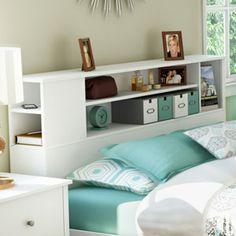 1000 Ideas About Bookcase Headboard On Pinterest Custom