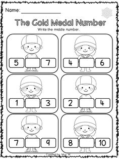 Kindergarten math, For kids and Math worksheets for kids