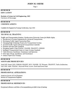 disney resume example