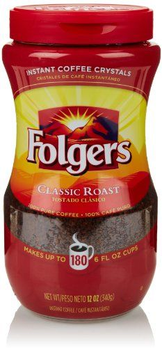 Best Folgers Classic Roast Instant Coffee Crystals Recipe