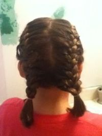 Pigtail French braids | Kid hairstyles | Pinterest ...