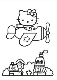 Skateboarding dog coloring page by Diane deGroat & Shelley