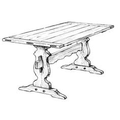 woodworking supplies woodworking plans woodworking projects trestle ...