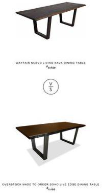 Pottery Barn Shayne Drop leaf Kitchen Table $499 - vs ...