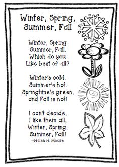 1000+ images about Fall poetry for kids. on Pinterest