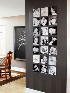 Photo Wall Displays Frames Why Didn't I Think Of That? Wednesday