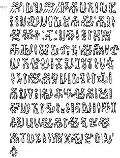 Language. This is a photo of the alphabet in Ethiopia