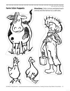 farm animal clip art graphics pig horse cows by