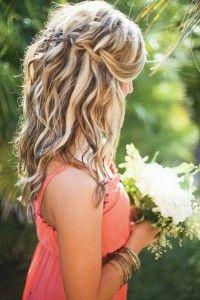 Schöne Offene Frisur Fürs Standesamt Hochzeitsideen Pinterest