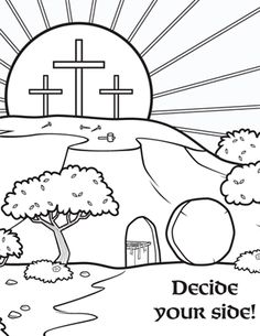 Kids coloring page from What's in the Bible? showing