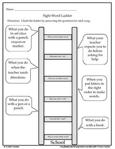 Printable Word Ladders for Elementary Students. Great for