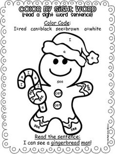 Alphabet ABC letter G Gingerbread coloring page