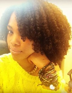 short natural hair twistout with side braids a style natural hairstyle my natural hair