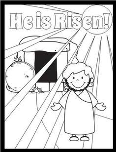 Jesus rides donkey into Jerusalem coloring page (for Palm