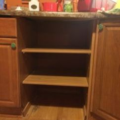 Replacement Shelves For Kitchen Cabinets Remodel Estimator Replace The Dishwasher With And Crates. | ...