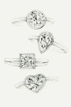 1000+ images about jewellery sketches on Pinterest