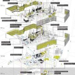 Oma Parc De La Villette Diagram Trail Tech Wiring Archiveofaffinities: Oma/rem Koolhaas, Villette, Paris, France, 1982 | Illustration ...