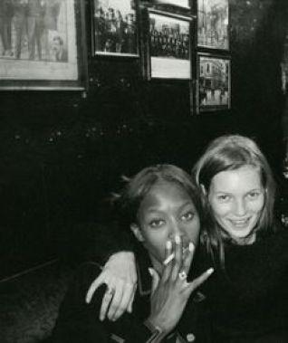 Naomi Campbell + Kate Moss | Dublin 1994