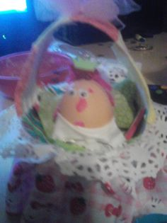 Egg baby projectdid this in home ec in hs hated it