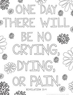 30 Bible Verse Coloring Pages for a Grieving Child + 20