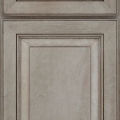 Rustic Hickory Kitchen Cabinets Supplies Knotty Alder Peppercorn Medallion   Classic Style ...