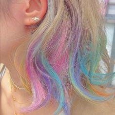 pastel rainbow hair on pinterest rainbow hair pastel rainbow hair and pastel