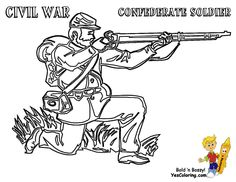 Classic M16 Rifle #Gun Coloring Page to Print...http://www