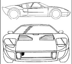 Cars, Coloring and Cooper cars on Pinterest