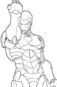 Blank Superhero Coloring Pages Coloring Pages