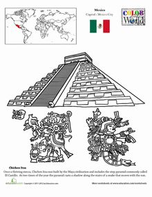 The Mayan trade routes. Trading was the reason of why the