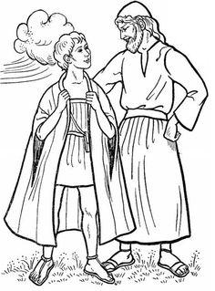 Jozef heeft van vader Jakob een prachtige jas gekregen