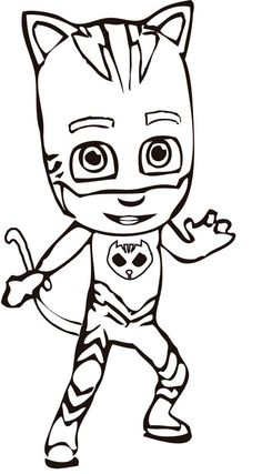 Make your own Catboy mask! #pjmasks #activitysheet #