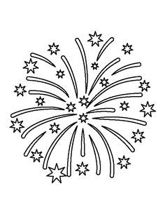 4 inch star pattern. Use the printable outline for crafts