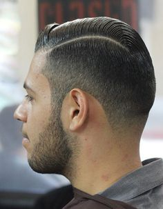Line Up Hair Beard Fade And Hairstyle Short