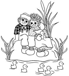 1000+ images about Raggedy Ann and Andy quilt on Pinterest