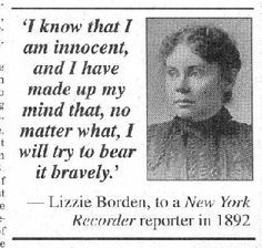 Miss Emma Borden died June 10, 1927. Her sister, Lizzie