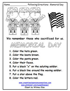 Print out our free Memorial Day word search and help your