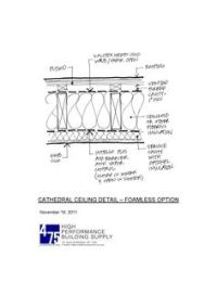 Two approaches for insulating cathedral ceilings and flat ...