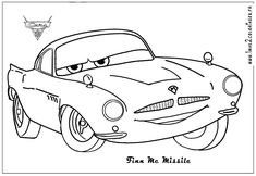 Free Printable Coloring Pages Preschoolers of cars, trucks