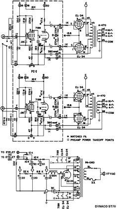 A good high power amplifier with 2N3055 & MJ2955 ass a