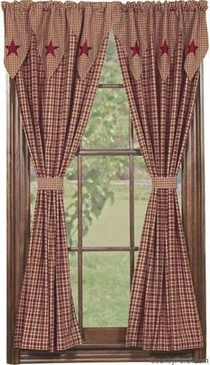 York Lined Point Curtain Valance These Would Look Great In My