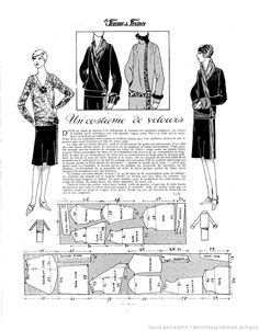 1000+ images about 1920s Patterns From French Ladies